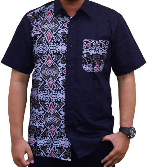 Baju Atasan Wanita Kemeja Blouse Hem Wiwih Blue model baju batik laki laki casual awal tahun 2016 info tren baju terbaru di indonesia