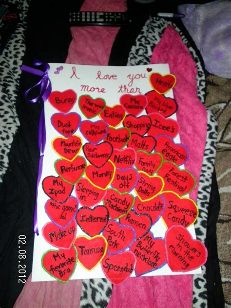 valentines day ideas for boyfriend pinner says quot giant card i made my boyfriend for