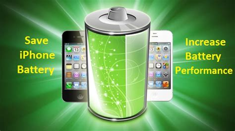how to save iphone battery increase battery performance of iphone