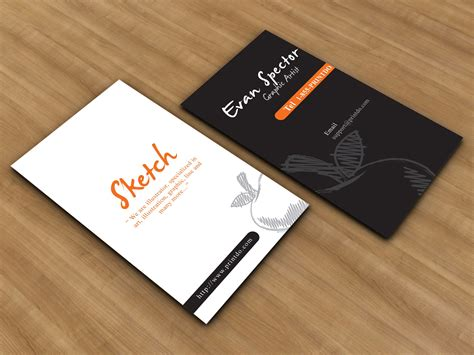 business card template for sketch sketch business cards printdo