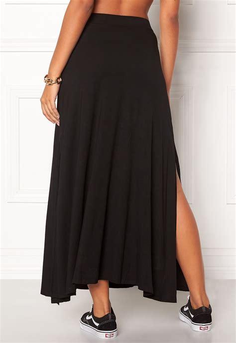 Olla Maxi Skirt d brand berit maxi skirt black bubbleroom