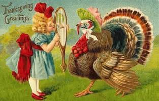 graphic design inspiration vintage thanksgiving postcards
