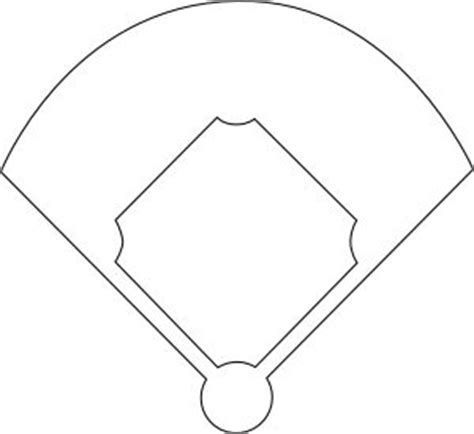 baseball field coloring page coloring me