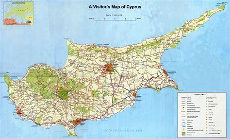 cyprus map zypern karte geschichte