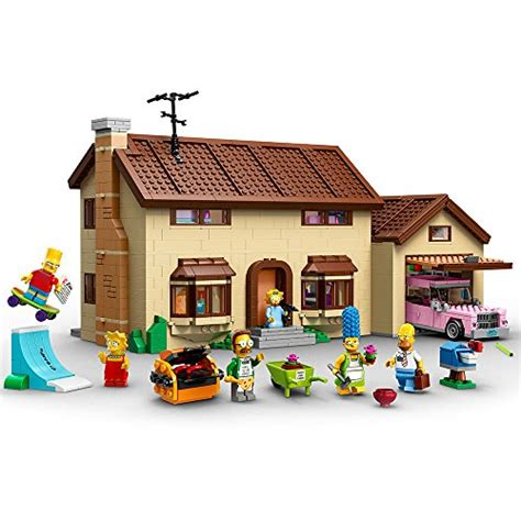 lego simpsons 71006 the simpsons house import it all