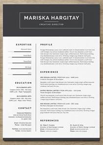 A Cv Template by 25 More Free Resume Templates To Help You Land The Job