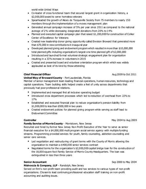 Planned Giving Officer Sle Resume by Daniel Kearns Resume October 2015 General
