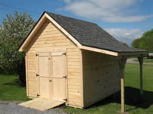vermont sheds and barns custom built on site large overhangs