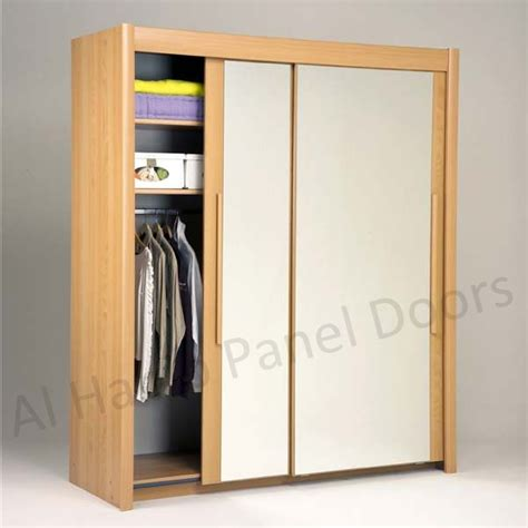 Free Standing Closet With Doors Sliding Two Door Free Standing Wardrobe Hpd518 Sliding Door Wardrobes Al Habib Panel Doors