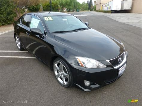 black lexus 2008 2008 obsidian black lexus is 250 107951338 gtcarlot com