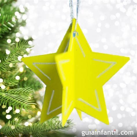 decoracion arbol de navidad manualidades estrellas de cartulina para decorar el 225 rbol de navidad