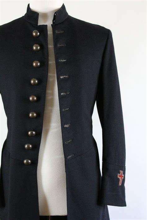 43 Coat Mc knights templar 1900s frock coat mc lilley co