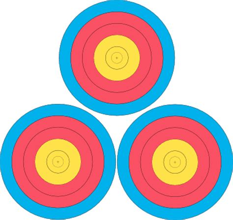 printable fita indoor targets how to 300 rounds pasadena roving archers