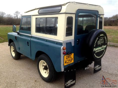 1975 land rover 1975 landrover defender 88 series 3 county staton wagon 7