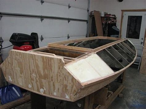 duck hunting boat build july 2016 how to building boat