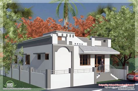 Small Single Floor House Plans Tamilnadu Style Single Floor House In 1092 Sq House