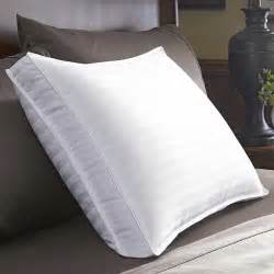 extra firm bed pillows restful nights down surround pillow extra firm density