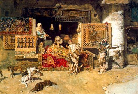 venditore di tappeti il venditore di tappeti di mariano fortuny 1871 1949 spain