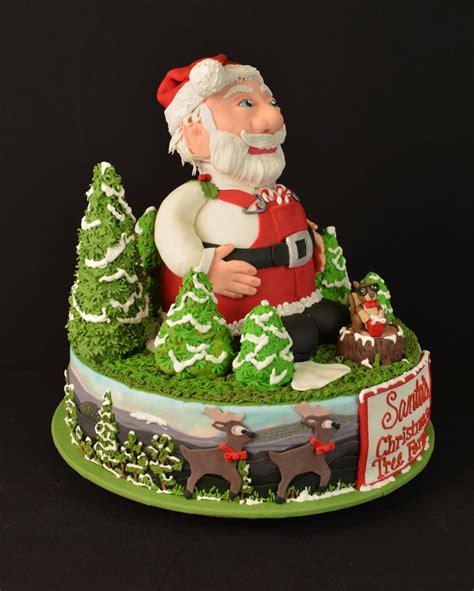 santa christmas tree farm cakecentral com
