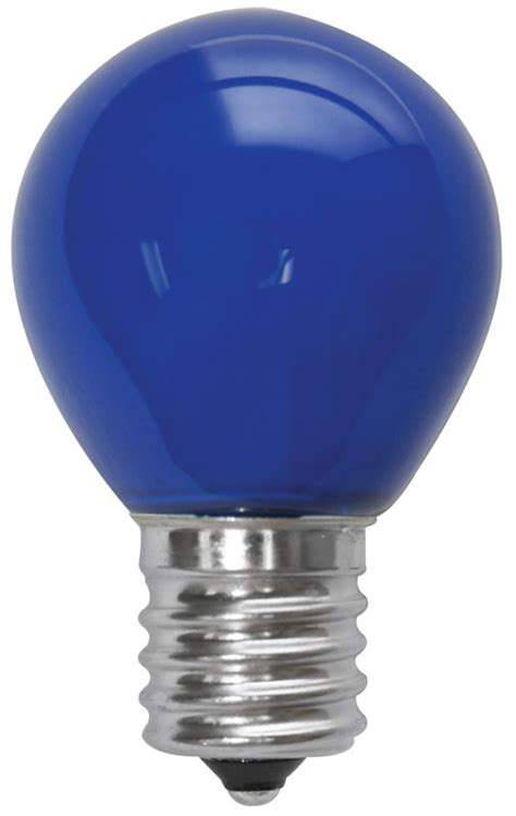 Lu Led Hannochs 11 Watt 1 watt led signlight s11 int ceramic blue litetronics