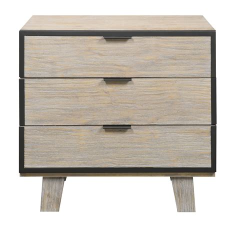 home design furniture synchrony synchrony 3 drawer nightstand emerald home furnishings nightstands nightstands bedroom fur