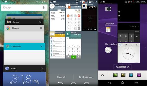sony xperia lollipop ui vs android lollipop vs touchwiz vs htc sense vs lg vs sony