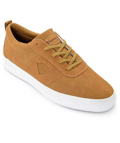 light brown shoe supply co icon light brown suede skate shoes at