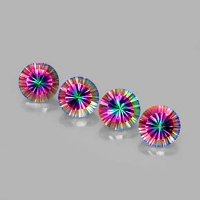 Multicolor Mystic Quartz 13 34ct mystic quartz 10 6 carat from brazil gemstones
