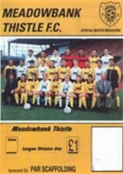 pie  mushy peas meadowbank thistle fc