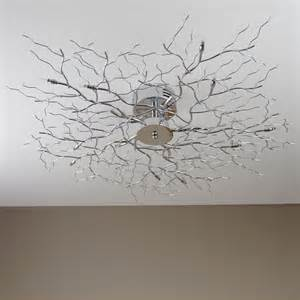 Halogen G4 by Ceiling Lamp Tree Light Chrome Halogen Branch New