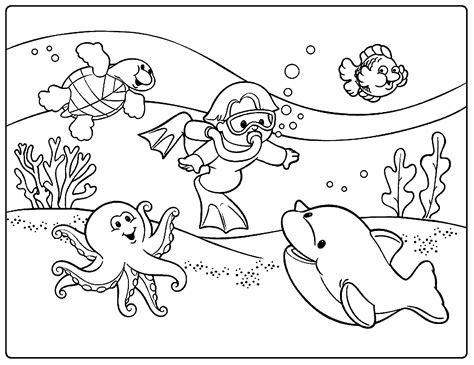 Buku Mewarnai Buku Kreatifitas Anak 4 In One mewarnai gambar pemandangan indah pilihan mewarnai gambar