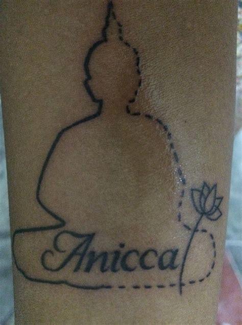 meditation tattoo designs design buddha anicca vipassana meditation