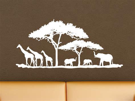 wandtattoo kinderzimmer kik wandtattoo landschaft in afrika wandtattoo net