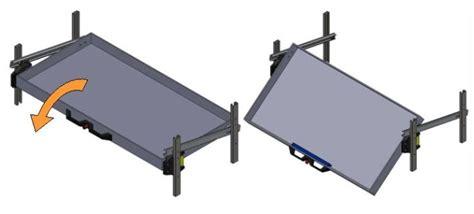 Tilting Drawer Slides by Widney Manufacturing Ltd New Slide Tilt System