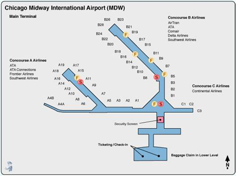 chicago midway airport map airport paleorunnergirl