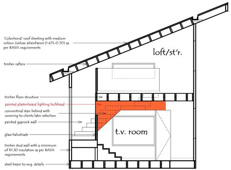 House Plans With Lofts by Areas That Require A Ceiling Height Of 2 4m There Are A