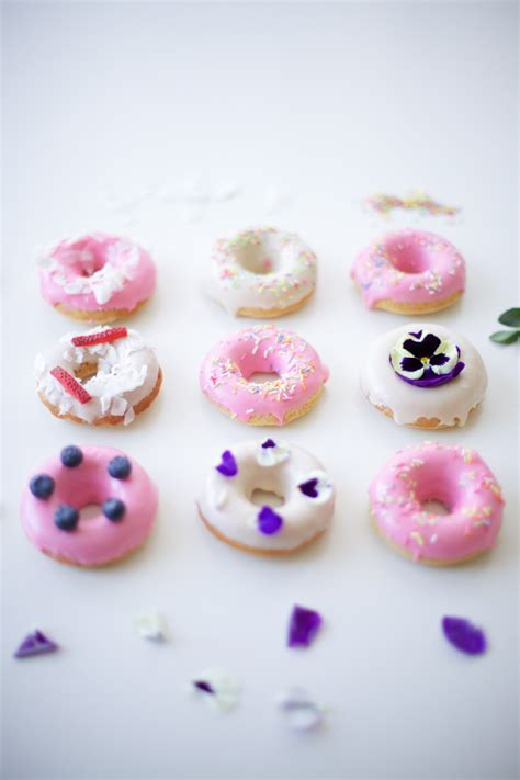 Donut Decorations by Pin Rainbow Cup Cakes Bothy Threads Cake On