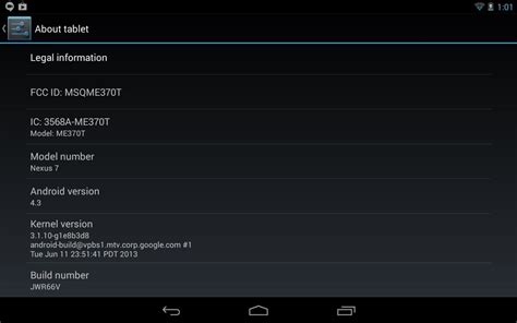 reset android jelly bean tablet how to install google s official 4 3 jelly bean update on
