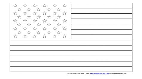 usa flag coloring page united state pages grig3 org