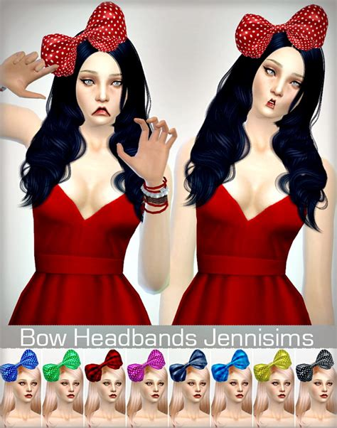 bow headband at jenni sims 187 sims 4 updates bow headband at jenni sims 187 sims 4 updates