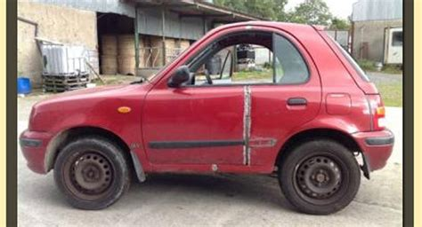 Car Parts Done Deal The Modified Nissan Micra Shorty For Sale On Donedeal Is