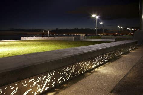 Landscape Architecture Lighting Elwood Foreshore Aspect Studios Elwood Australia Mimoa