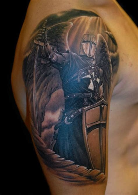 christian warrior tattoo christian crusader tattoos pictures to pin on