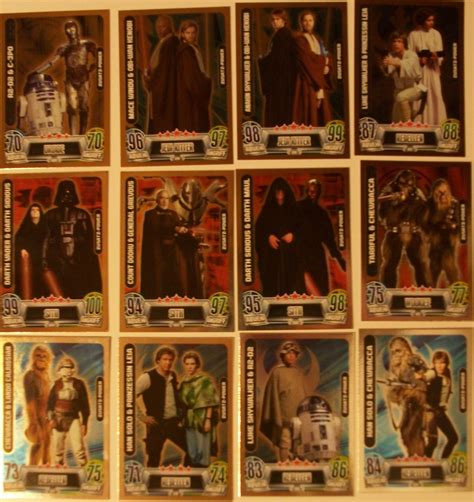 Star Wars Movie Gift Card - stickers trading cards specialkit de