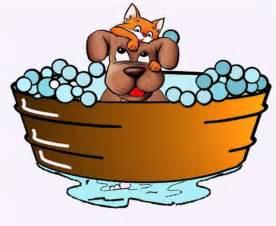 Dog Bathtub Dog In Bathtub Clipart
