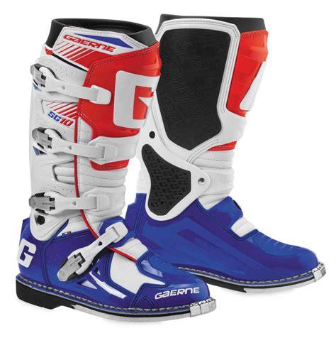 gaerne motocross boots 350 55 gaerne mens s10 mx motocross off road riding 1037174