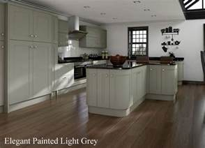 Light Grey Painted Kitchen Cabinets Kitchens Painted Grey
