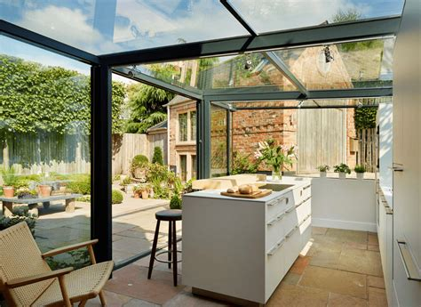 küchengestaltung mediterran k 252 chengestaltung ein glashaus f 252 r eine angebaute k 252 che