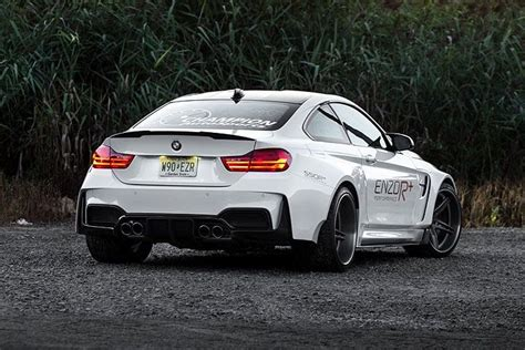 bmw m4 widebody the 2015 bmw m4 looks menacing in widebody form