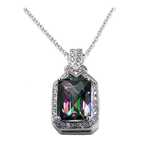 topaz necklaces and pendants from mdc diamonds nyc